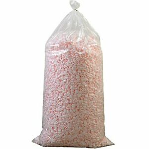 Aviditi 7nutsas Anti static Loose Fill Packing Peanuts 7 Cubic Feet Pink