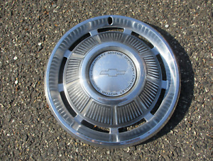 One Factory 1968 Chevy Impala Hipo 15 Inch Metal Hubcap Wheel Cover