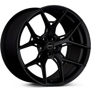 4 Staggered 21x9 21x10 5 Vossen Hf5 Gloss Black 5x112 32 30 Wheels Rims
