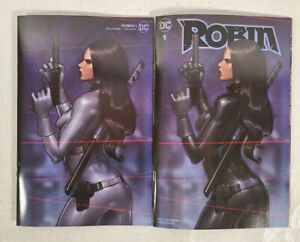 DC Robin #1 Variant Cover Talia Al Ghul By Jeehyung Lee Set of Two Books $55.00