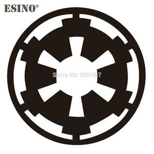 Car Styling Star Wars Galatic Empire Car Window Vinyl Decal Body Decorative Stic