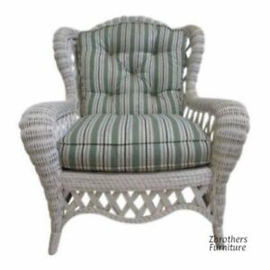 Vintage Quality Custom Wicker Patio Porch Living Room Lounge Chair