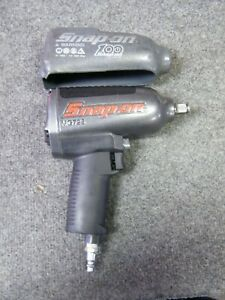 Snap On Mg725 1 2 Drive Impact Wrench Metallic Grey Color 100 Year Anniversary