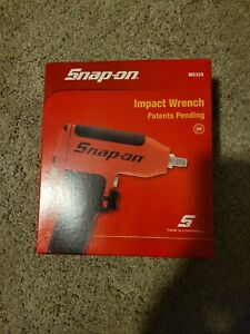 Snap On Mg325 3 8 Drive Air Impact Wrench Red With Boot