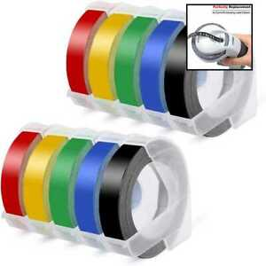Suminey Compatible Embossing Tape Replacement For Dymo Label Maker Xpress 3 8 3