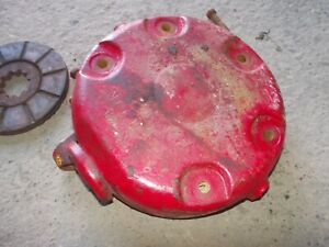International 504 Utility Ih Tractor Left Brake Housing Cover W Disc Bolts