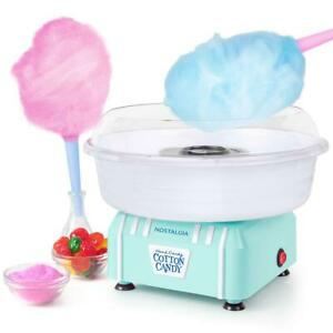 Electric Cotton Candy Machine Maker Sugar Snow Mini Traditional Flossing Sweet