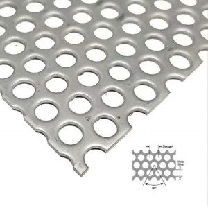 304 Stainless Steel Perforated Sheet Perforated Metal Sheet Steel stainless 16