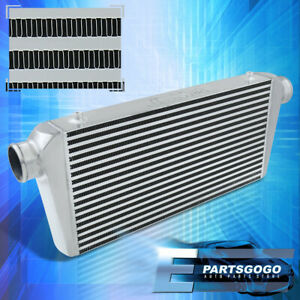 Polished Universal Intercooler For Turbocharger Supercharger 31 x11 75 x3