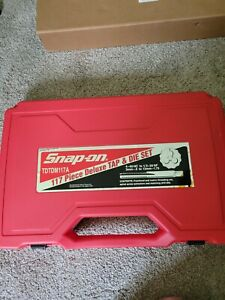Snap on Tdtdm117a Metric And Sae Tap And Die Master Set 117 Piece Set
