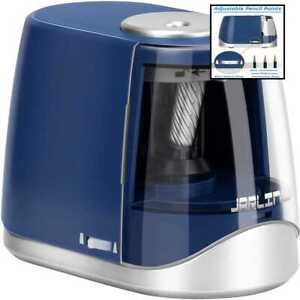 Electric Pencil Sharpener Heavy Duty Battery Operated For School Classroom Offic