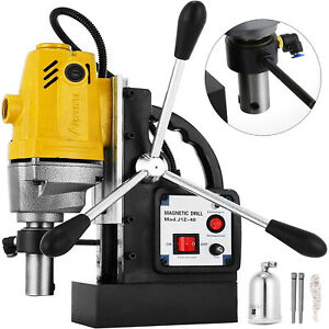 Vevor Md40 Magnetic Drill Press 1 1 2 Boring 40mm Electric Magnet Force Tapping