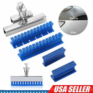 6pcs Car Body Slide Hammer Paintless Dent Repair Tools Puller Lifter Removal Kit