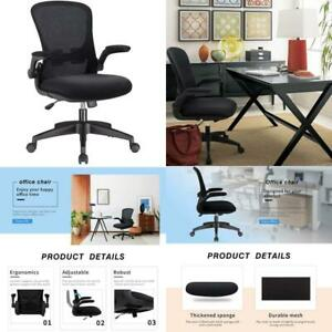 Office Chair Mesh Desk Chair With Lumbar Support High Back Swivel Computer Chair