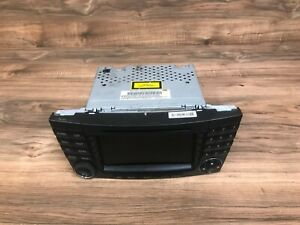 Mercedes Benz Oem W211 W219 Front Navigation Radio Stereo Map Headunit System 2