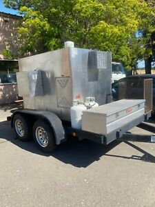 Southern Pride Sp 700 Mobile Smoker On Custom Built Double Axel Trailer