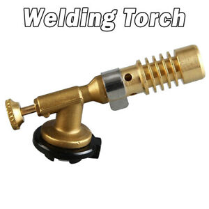 Professional Brazing Welding Nozzle Blow Torch Mapp Propane Gas Plumbing Torch