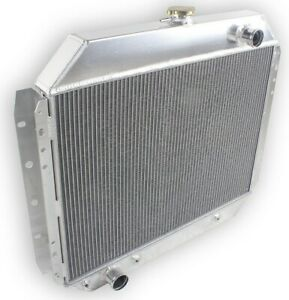 4row All Aluminum Radiator For 66 79 Ford F100 F150 F250 F350 78 79 Bronco Truck