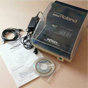 Engraving Machine Roland Metaza Mpx 80 Roland Metaza Metal Used From Japan Rare
