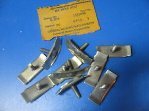 46 47 48 49 1946 1947 1948 1949 Buick Nos Gm Fender And Fender Molding Bolts