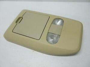 04 08 Ford F 150 Roof Overhead Compartment Tan Map Dome Light Storage