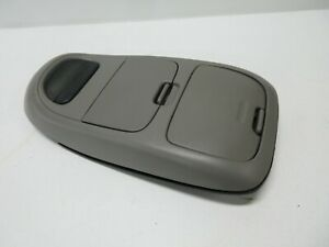 98 03 Ford F 150 150 Overhead Console Digital Display Screen Cubby Storage Gray