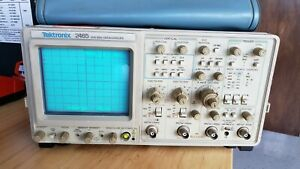 Tektronix 2465 300mhz 4 Channel Oscilloscope In Excellent Working Condition
