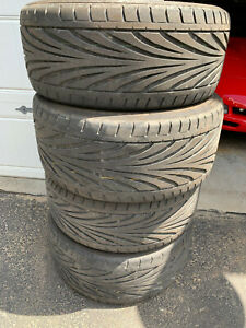 Used Toyo Proxes Corvette Tires 245 45r17 And 275 40r18