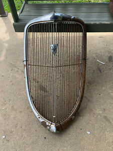 1932 1933 1934 Ford Grill Shell Original Rat Hot Rod