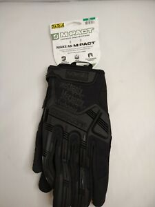 Gloves Mechanix Wear Mpt 55 011 M pact Covert Tactical Work X large All Black