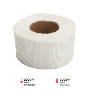 White Exhaust Pipe Insulation Thermal Heat Wrap 2 X 50ft Motorcycle Header
