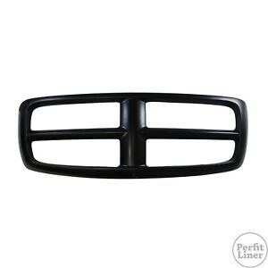 Black Grille Frame Shell Surround Molding Fit 02 05 Ram 1500 03 05 2500 3500