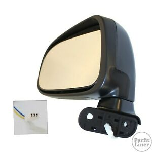 Left Driver Side Power Remote Mirror Assembly Fit 91 97 Toyota Previa