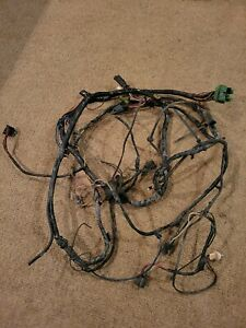 1971 Ford Mustang Under Hood Wiring Harness Mach 1 With A C Non Tach 302 351w