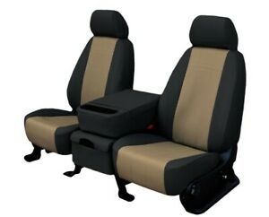 Ford Ranger 1998 2003 Beige Faux Leather Custom Fit Front Seat Covers