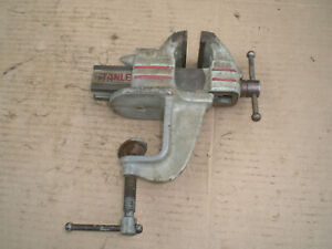 Vintage Stanley Clamp On Bench Vise 2 1 2 Jaws