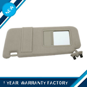 Left Driver Side Sun Visor Tan Beige Fits 2007 11 Toyota Camry Without Sunroof Fits Toyota Camry