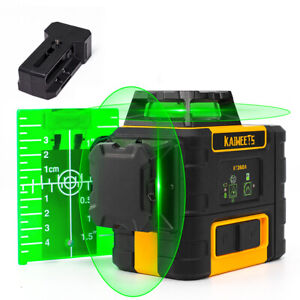 Kaiweets 360 Rotary Green Laser Level Self Leveling Elec Detect Pen Free New