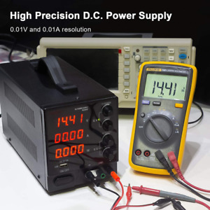Kaiweets Dc Power Supply Bench Power Supply Led Variable Power Supply Adjust