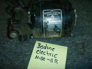 Bodine Electric Speed Reducer Motor 27rpm 324 1 Nse 11r Serial 4603238 Oem New