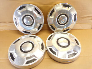 Set Of 4 Vintage Chevy Chevrolet Dog Dish Hubcaps Unknown Application