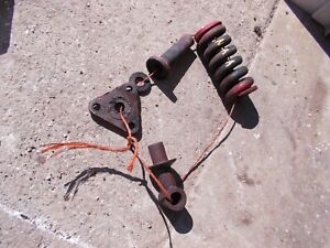Ford Naa Tractor Original 3pt Hitch Center Top Link Holder Spring Bracket Parts