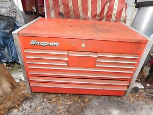Snap On Kr 3500 Large Top Chest 35 X 21 X 22 Tool Box Vintage Orlando