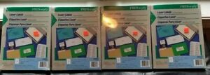 400 Avery Compatible 5165 5265 Full Sheet Labels White 8 5 X 11 Free Shipping