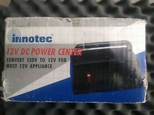 Innotec Ac To Dc Power Center Converter For Appliances Electronics Camping
