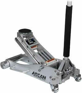 Arcan 3 Ton Quick Rise Aluminum Floor Jack With Dual Pump Pistons Color May Vary