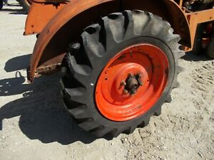 Unstyled Ac Wc Tractor 11 2 X 24 99 Tread Tires On Allis Chalmers Rims
