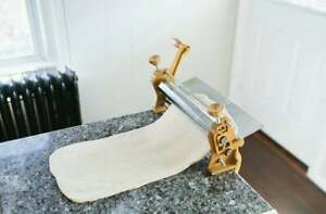 Dough Sheeter 12 Inches Dough Roller Kitchen And Dine Cakes Pizzas Bread