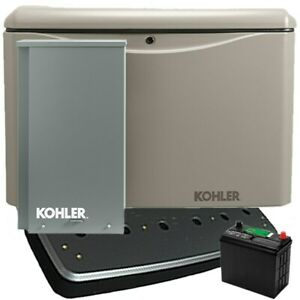 Kohler 14rcal 200sels 14kw Aluminum Standby Generator System 200a Service Di