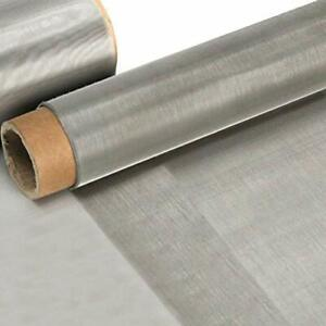304 Stainless Steel Woven Wire Mesh 80 0 18mm Hole About 11 8 X 39 4 Inch Roll